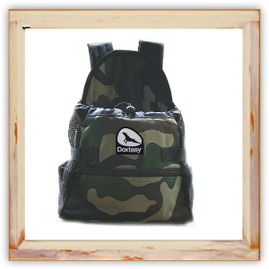 Sac ventral camouflage pour Chihuahua