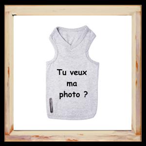 "T-shirt Chihuahua "" Tu veux ma photo"""