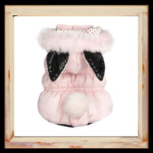 Doudoune pour chien Pan-Pan rose