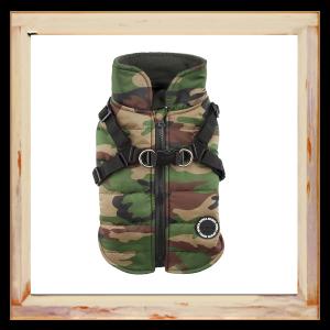 Manteau pour chien camouflage Puppia